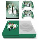 Boston Celtics decal skin sticker for Xbox One S console and controllers