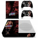 Cleveland Cavaliers decal skin sticker for Xbox One S console and controllers
