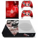 Houston Rockets decal skin sticker for Xbox One S console and controllers