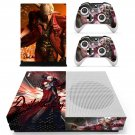 Devil May Cry 4 decal skin sticker for Xbox One S console and controllers