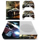 Car Wallpaper decal skin sticker for Xbox One S console and controllers
