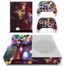 Iron Man decal skin sticker for Xbox One S console and controllers