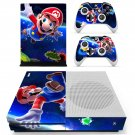 Super Mario Galaxy 2 decal skin sticker for Xbox One S console and controllers