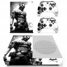 Batman arkham knight decal skin sticker for Xbox One S console and controllers