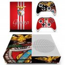 SL Benfica decal skin sticker for Xbox One S console and controllers