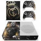 Real Madrid decal skin sticker for Xbox One S console and controllers