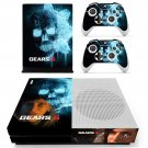 Gears 5 decal skin sticker for Xbox One S console and controllers
