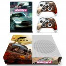 Forza Horizon 4 decal skin sticker for Xbox One S console and controllers
