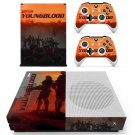 Wolfenstein youngblood decal skin sticker for Xbox One S console and controllers
