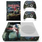 Unravel Two decal skin sticker for Xbox One S console and controllers