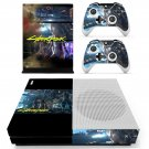 Cyberpunk 2077 decal skin sticker for Xbox One S console and controllers