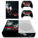 Resident Evil 2 remake decal skin sticker for Xbox One S console and controllers