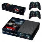 Resident Evil 2 Remake decal skin sticker for Xbox One console and controllers