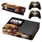 Doom Eternal decal skin sticker for Xbox One console and controllers
