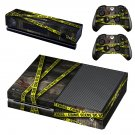 Crime Scene decal skin sticker for Xbox One console and controllers