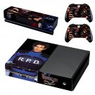 Resident Evil 2 decal skin sticker for Xbox One console and controllers