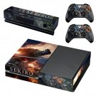 Sekiro decal skin sticker for Xbox One console and controllers