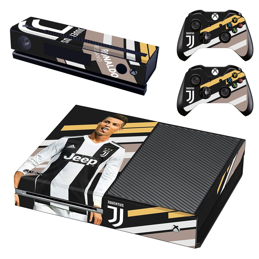 Cristiano Ronaldo decal skin sticker for Xbox One console and controllers