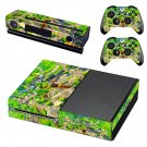 Aerial photography decal skin sticker for Xbox One console and controllers