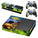 Fortnite battle royale decal skin sticker for Xbox One console and controllers