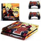 Naruto to Boruto decal skin sticker for PS4 console and controllers