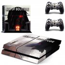Sea of Solitude decal skin sticker for PS4 console and controllers