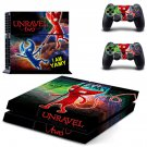 Unravel Two decal skin sticker for PS4 console and controllers
