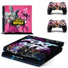 Fortnite battle royale decal skin sticker for PS4 console and controllers