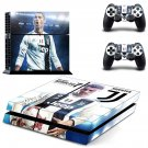 Cristiano Ronaldo decal skin sticker for PS4 console and controllers