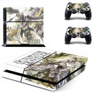 Octopath Traveler decal skin sticker for PS4 console and controllers