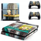Captain Toad decal skin sticker for PS4 console and controllers