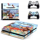 Super Smash Bros Ultimate decal skin sticker for PS4 console and controllers