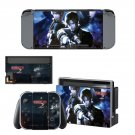 Resident Evil 2 decal skin sticker for Nintendo Switch console and controllers