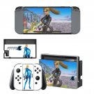 Metroid Prime decal skin sticker for Nintendo Switch console and controllers