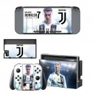 Cristiano Ronaldo decal skin sticker for Nintendo Switch console and controllers