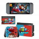 Super Mario Odyssey decal skin sticker for Nintendo Switch console and controllers