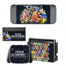 Super Smash Bros Ultimate decal skin sticker for Nintendo Switch console and controllers