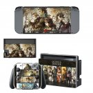 Octopath Traveler decal skin sticker for Nintendo Switch console and controllers