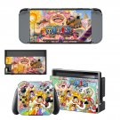 One Piece decal skin sticker for Nintendo Switch console and controllers