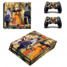 Naruto to Boruto decal skin sticker for PS4 Pro console and controllers