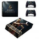 Assassin's Creed Odyssey decal skin sticker for PS4 Pro console and controllers