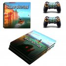 Sea of Solitude decal skin sticker for PS4 Pro console and controllers
