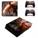 Sekiro Shadows Die Twice decal skin sticker for PS4 Pro console and controllers