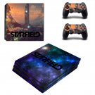 Starfield decal skin sticker for PS4 Pro console and controllers