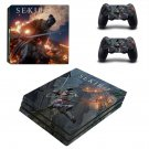 Sekiro decal skin sticker for PS4 Pro console and controllers