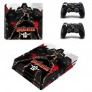 Wolfenstein decal skin sticker for PS4 Pro console and controllers