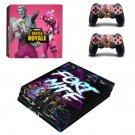 Fortnite battle royale decal skin sticker for PS4 Pro console and controllers