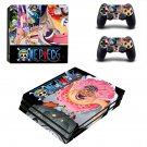 One Piece decal skin sticker for PS4 Pro console and controllers