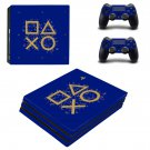 Classic decal skin sticker for PS4 Pro console and controllers