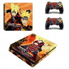 Naruto to Boruto decal skin sticker for PS4 Slim console and controllers